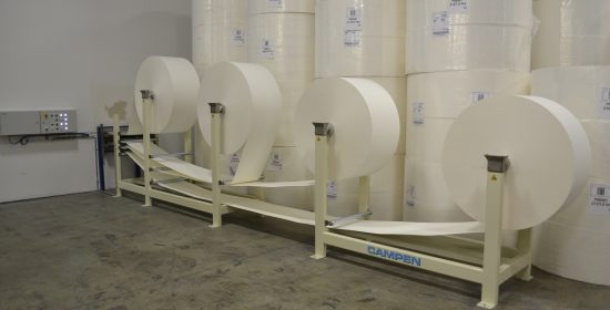 Airlaid fluff pulp for fiberization