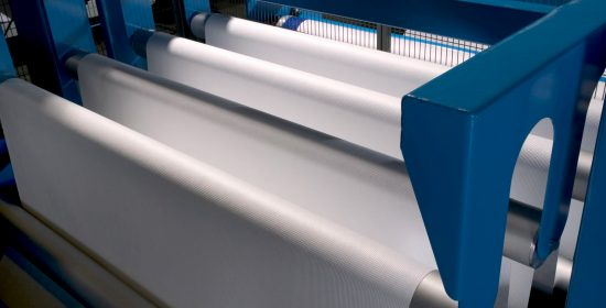 accumulator nonwoven