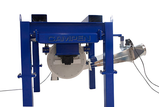 Airlaid machinery for production of sustainable airlaids