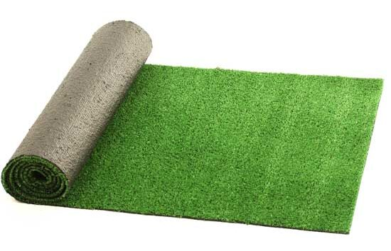 Backing of artificial grass